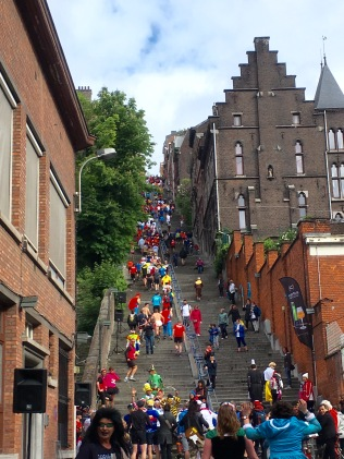 The 374-step Bueren Stairs