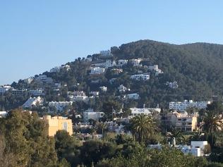 Ibiza hillside