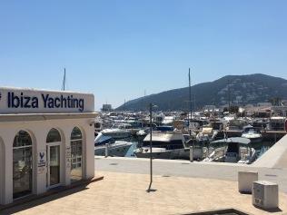 Santa Eulalia port